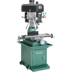 Grizzly G0705 Drill/Mill with Stand and 29 x 8-Inch Table