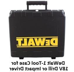 DeWALT Hard Plastic Universal Drill/Driver and Hammer Drill