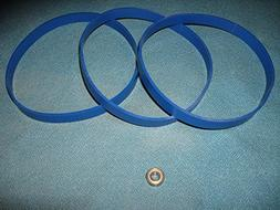 SET OF 3 BLUE MAX BAND SAW TIRES AND NEW THRUST BEARING FOR