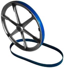 "New Heavy Duty Band Saw Urethane Blue Max Tire Set 14"" X 15/"