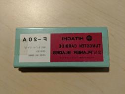 """Hitachi 200003 Tungsten Carbide 3-1/4"""" Planer Blades Pair"""