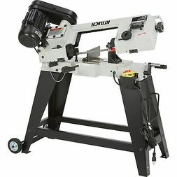 Klutch Horizontal/Vertical Metal Cutting Band Saw - 4 1/2in
