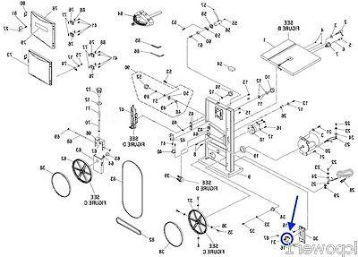 089120406711 Band Saw Switch Key