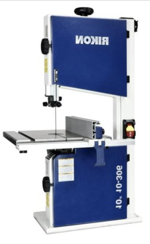 RIKON 10-306 Bandsaw 1/2 speed, tool-less guides