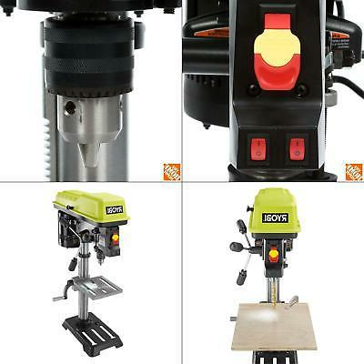 10 in drill press with laser light