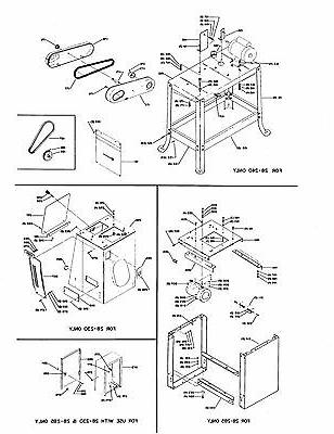 Delta Band Saw Wood Parts List