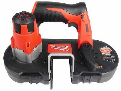 Milwaukee 2429-20 M12 12V Li-Ion Cordless Sub-Compact Band S