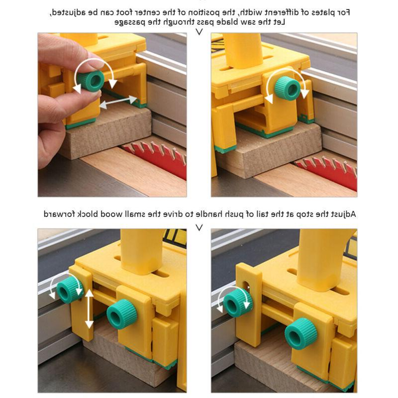 3D Safety Woodworking Push Block Tables Band Jointers