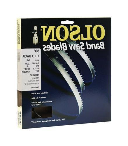 Olson Saw #17280 3/8x80 4TPI Saw Blade,No WB58280DB,  Olson