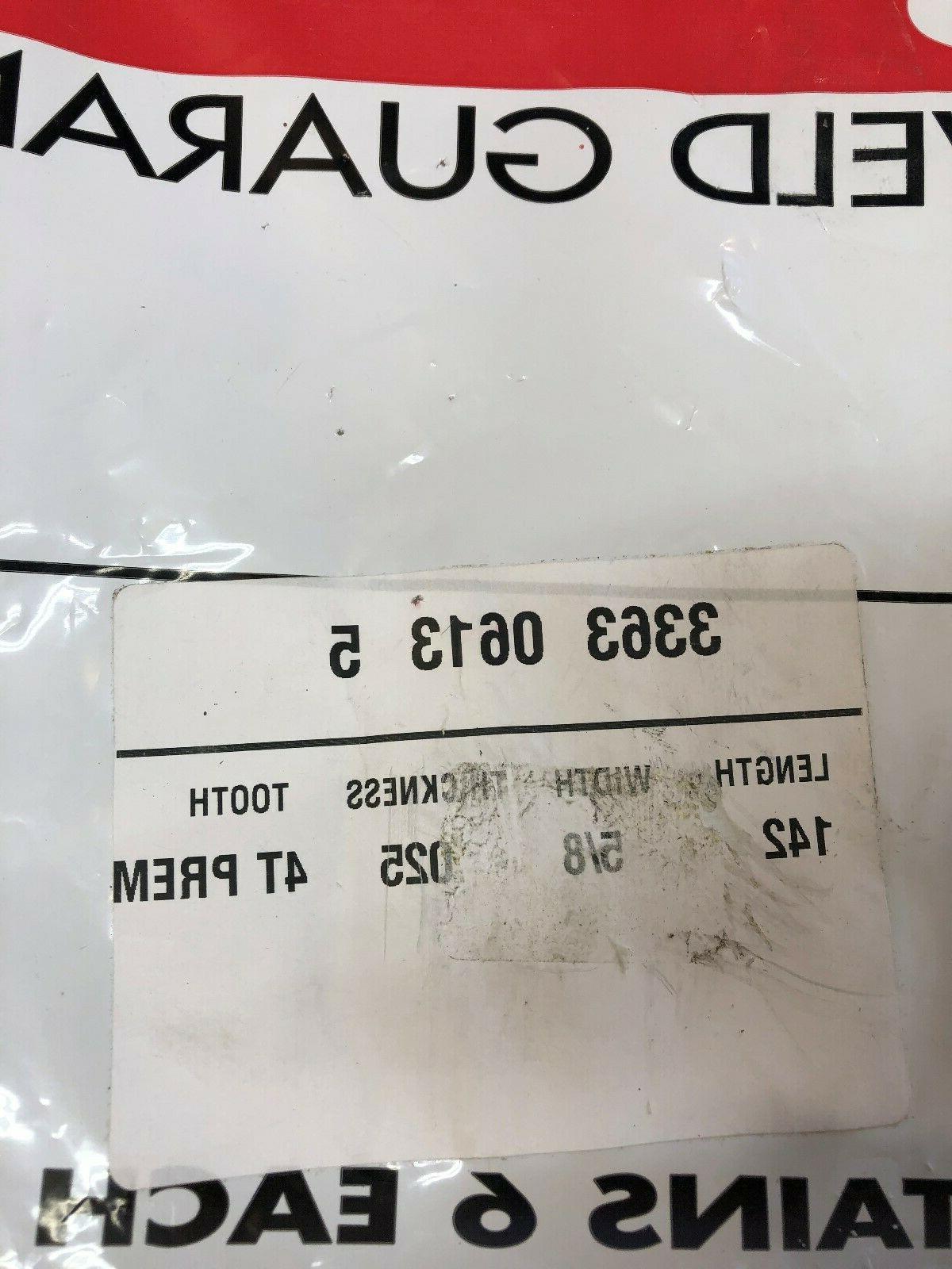 Bag of 3363-0613-5 Bandsaw Blades 5/8'' x 4T,