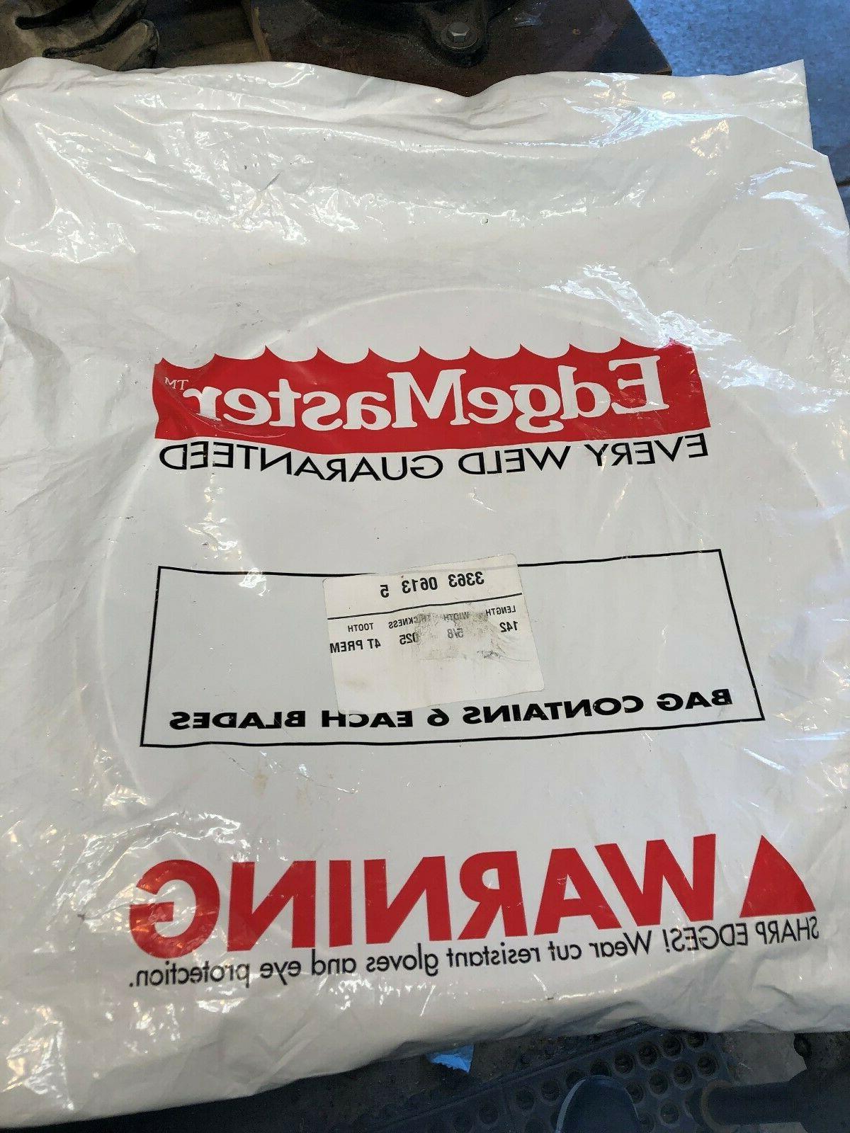 bag of 6 3363 0613 5 bandsaw