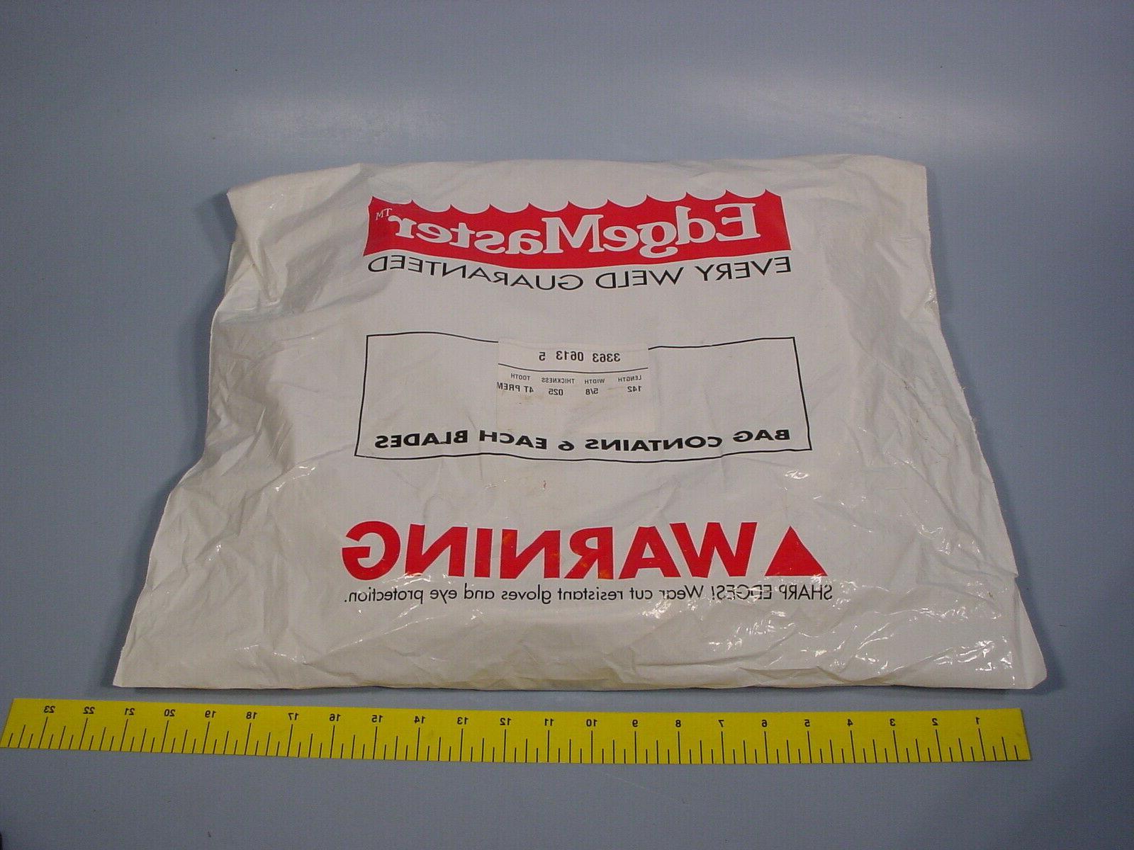 bag of 6 336306135 bandsaw blades 142