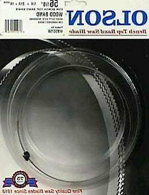 NEW Olson Band Saw Blades for Bench Top Saws WB55356BL  - De