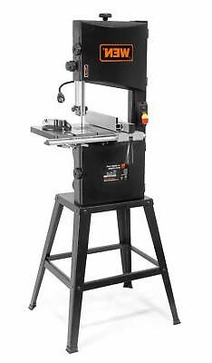 "WEN Band Saw 10"" Stand Work light Stationary 2-Speed Electri"