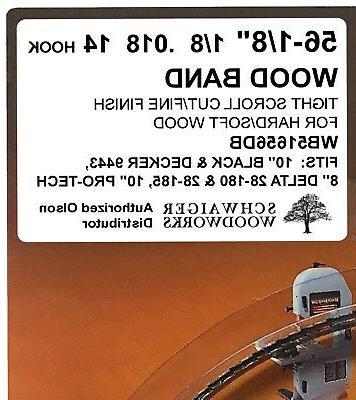 "Olson Saw 56-1/8"" inch x 14TPI Delta 28-185"