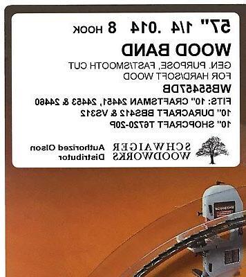 """Olson Band Blades 57"""" 56-7/8"""" x 1/4"""","""