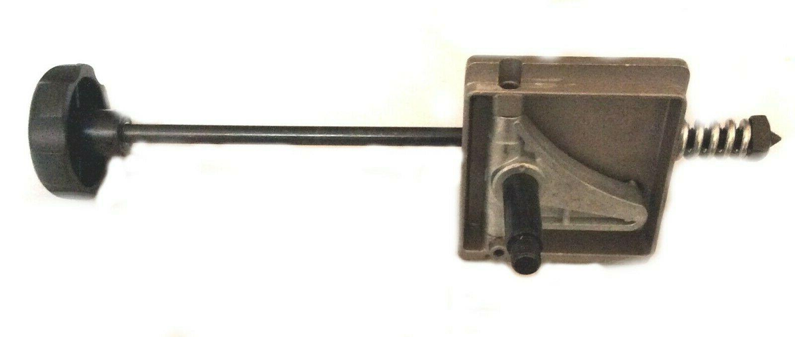 band saw upper shaft hinge assembly