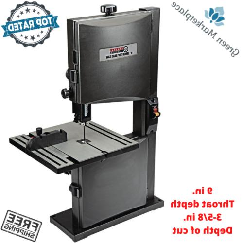 bench top band saw 9 throat 1