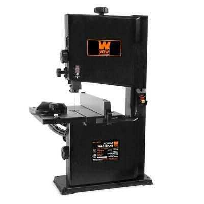 Corded Benchtop 9 in Band Saw 2.5 Amp Motor Lockout Power Sw