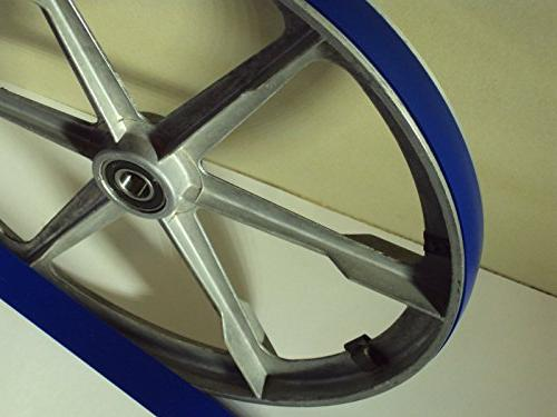 POWERMATIC BLUE MAX URETHANE BAND TIRES AND 2