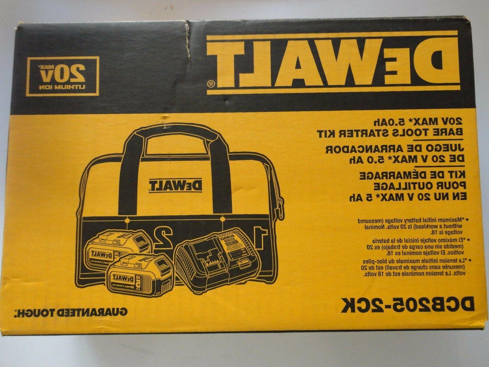 DEWALT Volt Max 2 DCB205 BAG
