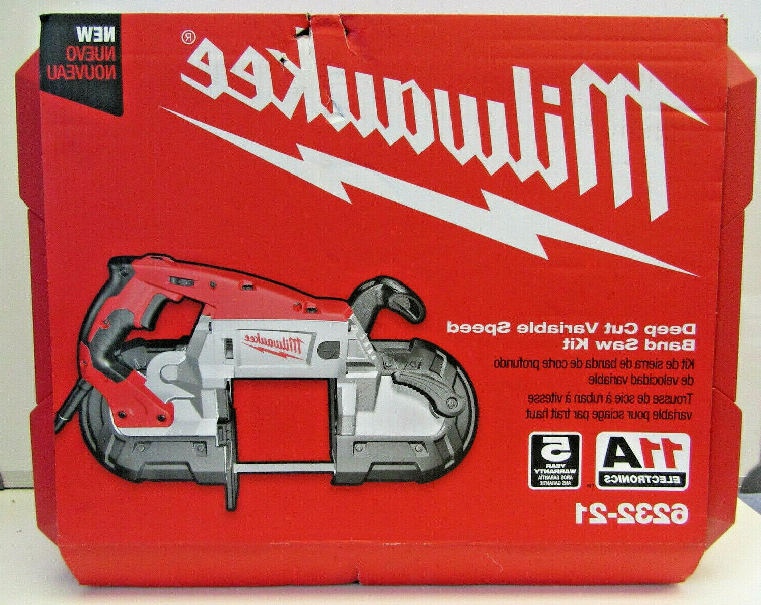 deep cut variable speed band saw kit