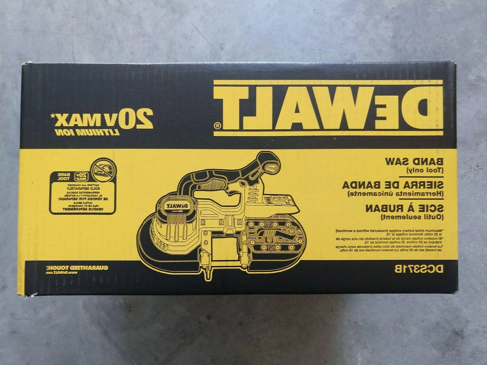 dewalt dcs371b 20v max li ion band