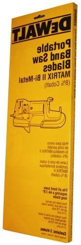 DEWALT DW3982 TPI Portable Blade,