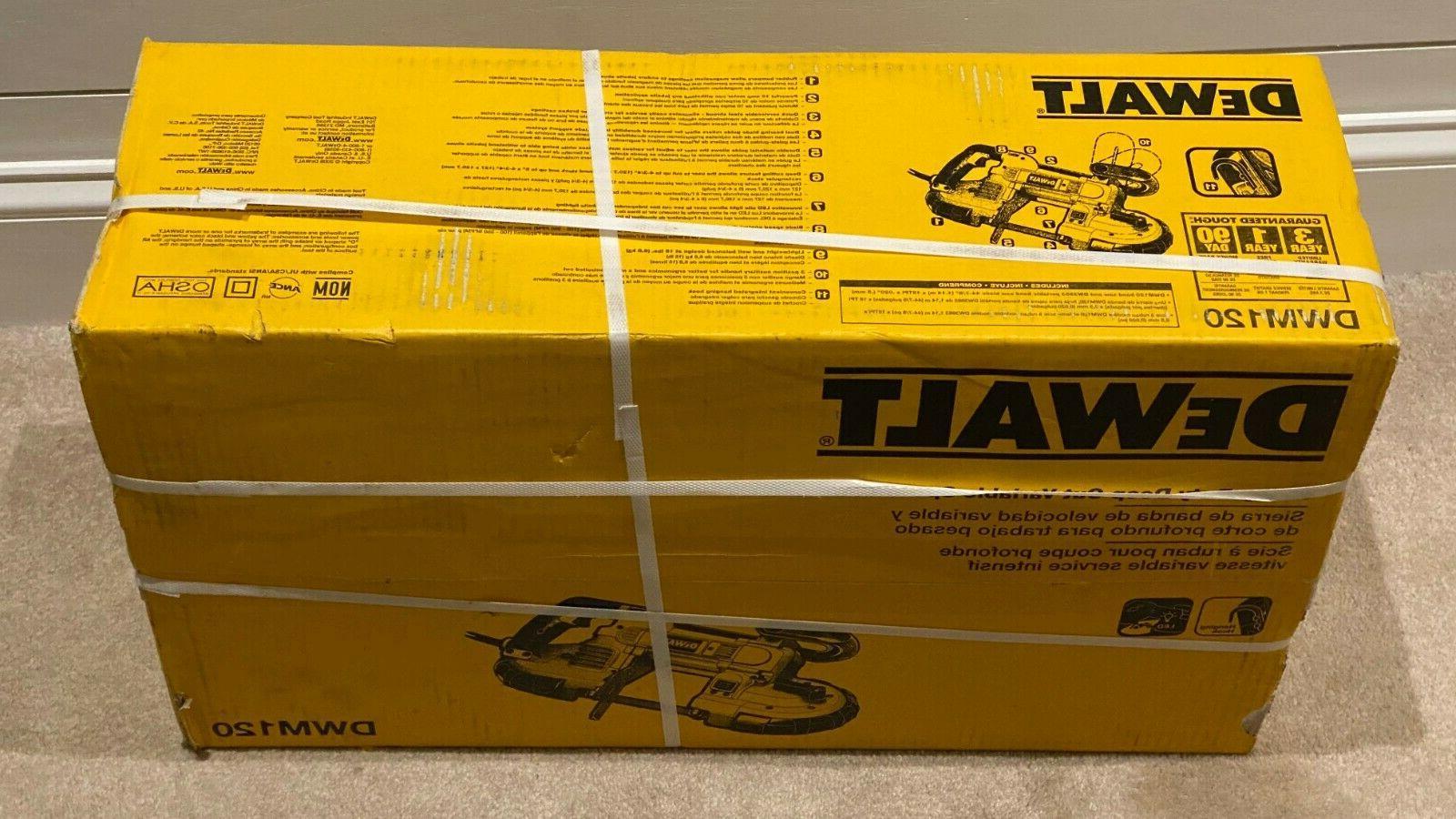 DeWalt Heavy-Duty Variable Speed Cut Band 10 5-Inch