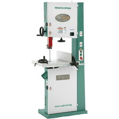 "Grizzly G0514X2B 19"" 3 HP Extreme-Series Bandsaw with Motor"