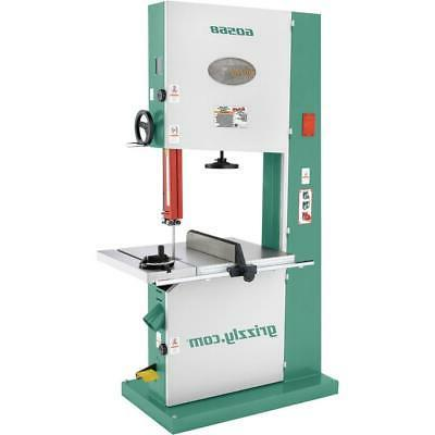 g0568 5 hp industrial bandsaw