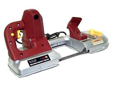 "HEAVY DUTY  PORTABLE BAND SAW 4-1/2"" CUT CAPACITY ELECTRIC H"