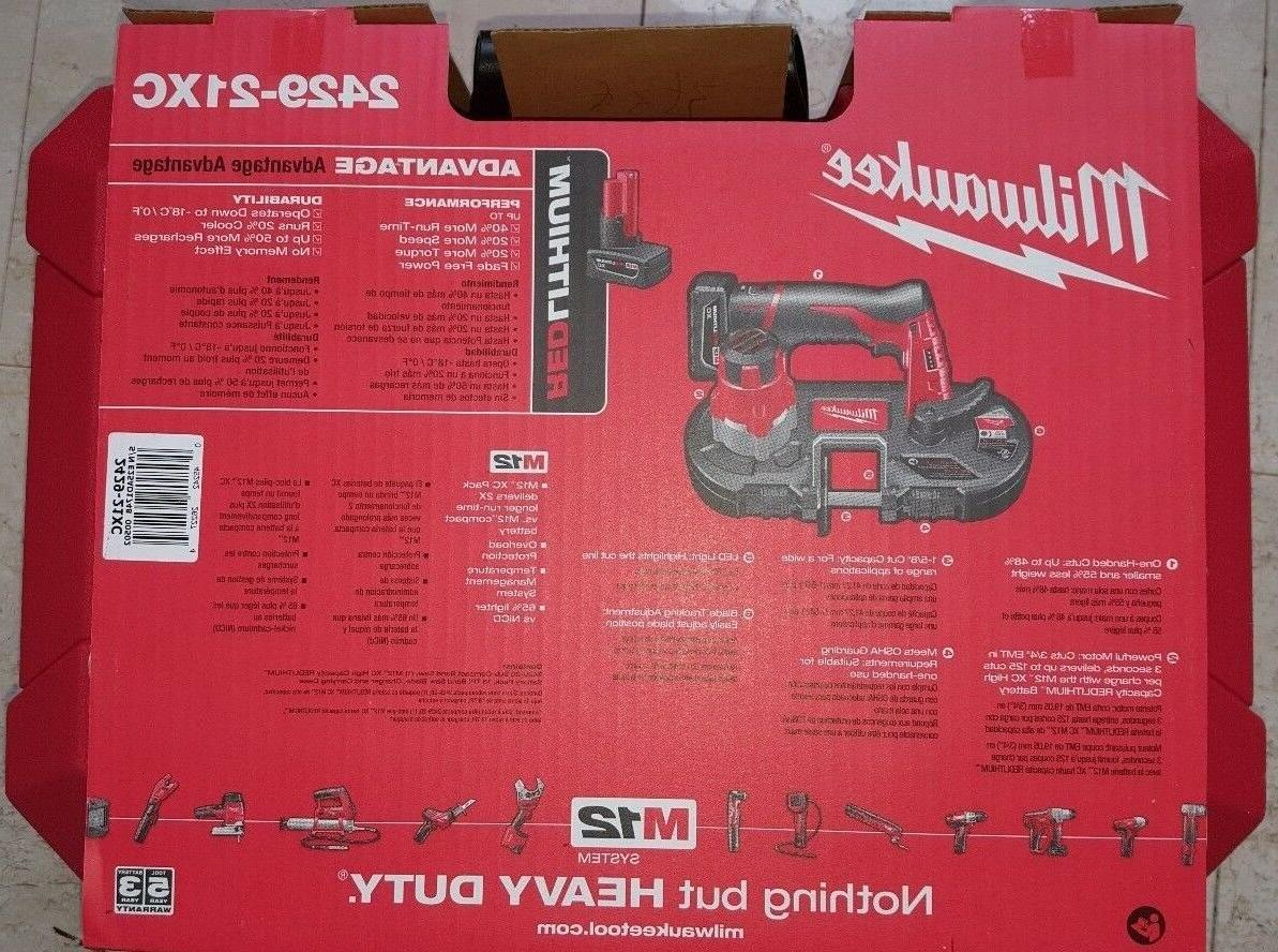MILWAUKEE Sub-Compact Saw Kit NEW