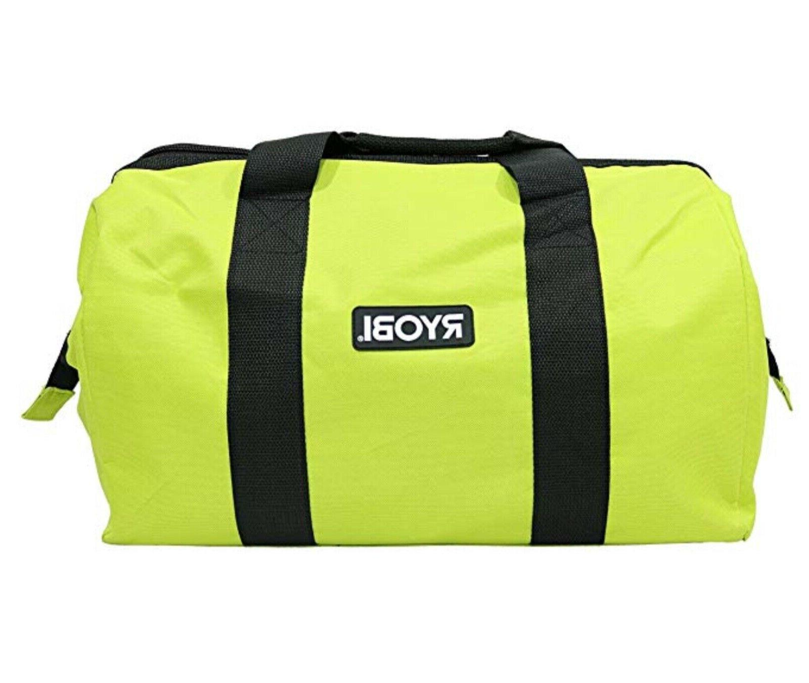 "New Ryobi 18"" x 12"" x 14"" Wide Mouth Collapsible Heavy"
