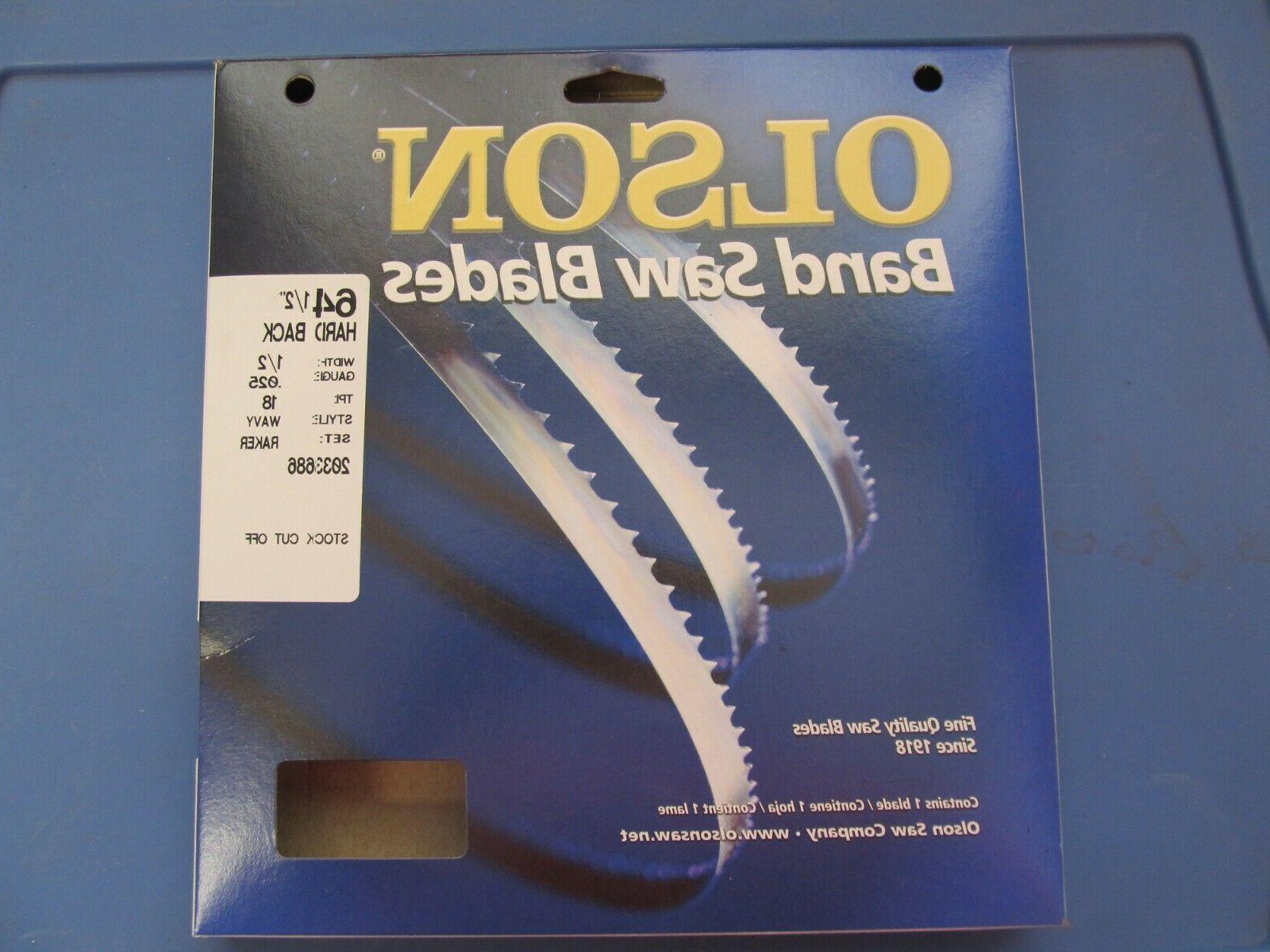 olson metal band saw blade 64 1