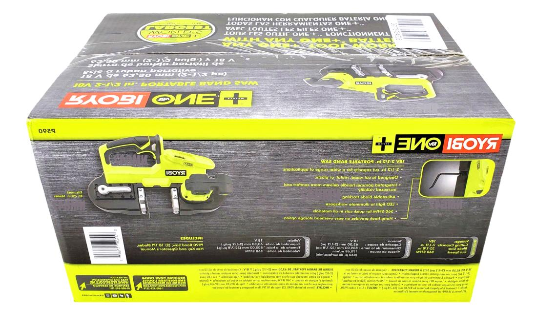 RYOBI P590 Cordless 2.5 Band Saw Tool Factory Sealed