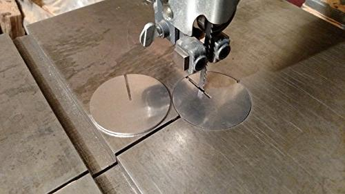 two band saw aluminum table