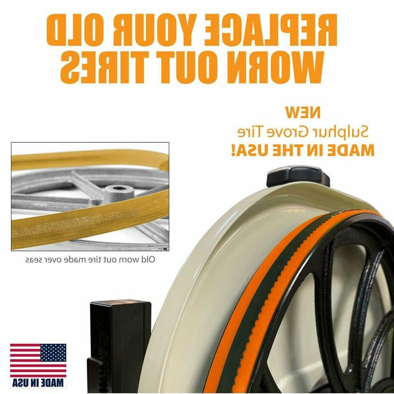 Sulpher Tool Urethane Band Tires Inch Inch Diameter