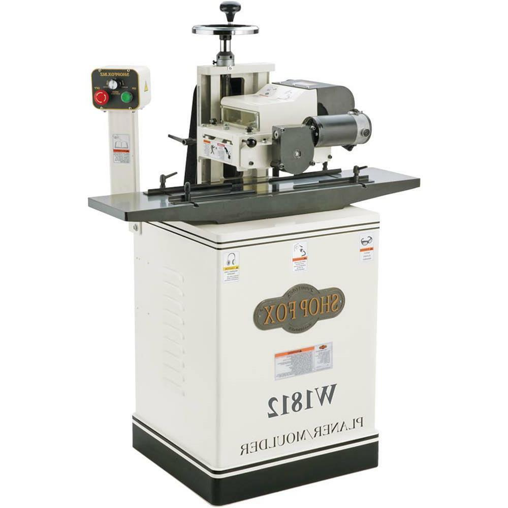 """W1812—2 HP 7"""" Planer / Moulder with Stand - Free Shipping"""