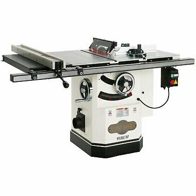 w1819 3 hp table saw