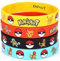 Generic Little Monster Rubber Bracelets Wristband 12 Pieces
