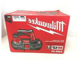Milwaukee M12 12V Li-Ion Sub-Compact Band Saw  2429-20 New