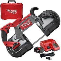 M18 Fuel Deep Cut Band Saw Kit with Batt Milwaukee 2729-21 N