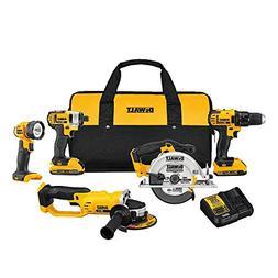 DEWALT 20V MAX Compact 5 Tool Kit DCK521D2 New