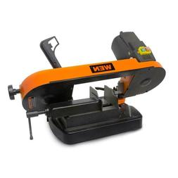 Metal-Cutting Bench Top Band Saw 5 in. Variable Speed Blade