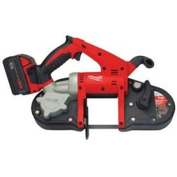 MILWAUKEE ELECTRIC TOOLS - M18 CORDLESS BANDSAW KIT - 495-26