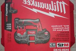 MILWAUKEE M12 2429-21xc Cordless Sub-Compact Band Saw Kit NE