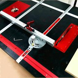 Miter Gauge Aluminium Fence For Bandsaw Table Saw Router Ang