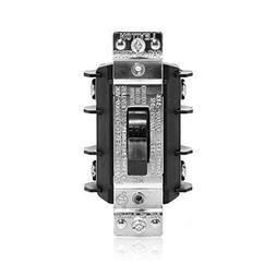LEVITON MS302DS Disconn Switch, Manual,30A,1Ph,215HP
