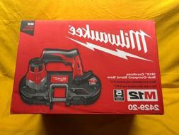 NEW Milwaukee 2429-20 Cordless Sub Compact Band Saw FREE SHI